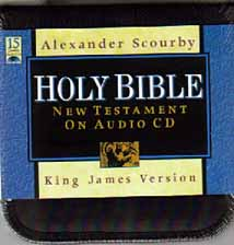 The New Testament on Audio CD or Tape